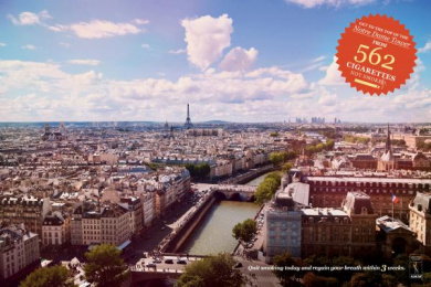 Adesf: NOTRE DAME TOWER Print Ad by Neogama