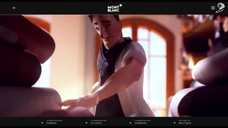 MONTBLANC: Discover The Magic Of Craft, 2 Film by Salon Alpin, Scholz & Friends Berlin