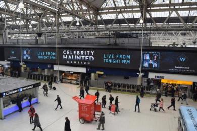 UKTV Channel W: Celebrity Haunted Mansion, 2 Outdoor Advert by UKTV Creative