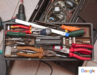 Google: Toolbox Print Ad by Miami Ad School New York