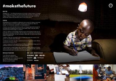 Shell: #MakeTheFuture [spanish image] Digital Advert by J. Walter Thompson London