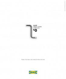IKEA: Allen Key Print Ad by BBH Singapore