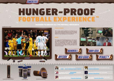 Snickers: Snickers Direct marketing by Impact BBDO Dubai
