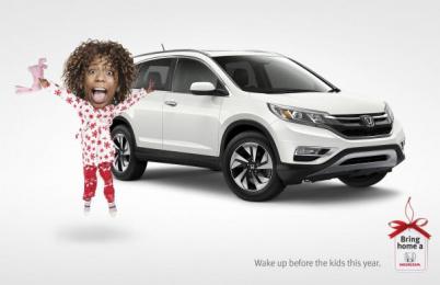 Honda: Wake up Print Ad by Wax