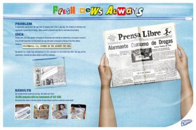 Ziploc: FRESH NEWS Direct marketing by PHD Guatemala