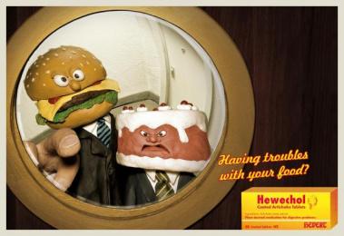 Digestive Pills: DOOR Outdoor Advert by DDB Berlin
