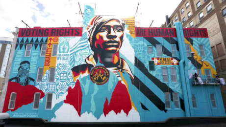 Shepard Fairey: Voting Rights are Human Rights Film by Hanson Dodge Creative