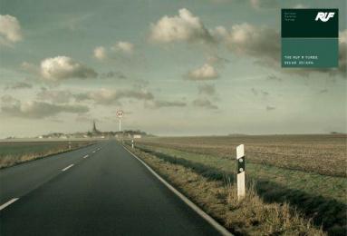 Ruf R Turbo: STREET SIGN Print Ad by Q Werbeagentur