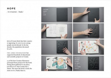 Adris Group: Hope [presentation image] Design & Branding by Bruketa&Zinic Zagreb, Cerovski Print Boutique
