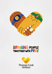 Thomas Cook Group Airlines: Bringing People Together With Pride, 4 Outdoor Advert by BJL Manchester