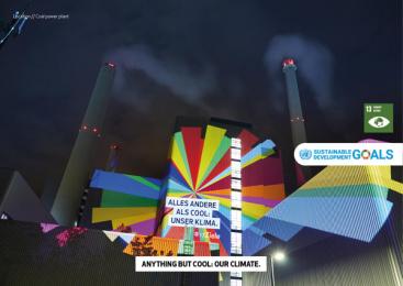 17Ziele: 17 Live Projections, 6 Print Ad by HUisHU. Digitale Kreativagentur, Hamburg & Hannover, Germany