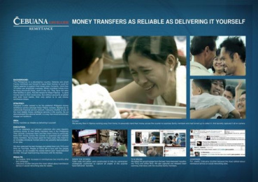 CEBUANA LHUILLIER: FAMILY REMEET Case study by Ace Saatchi & Saatchi Makati, Ace Saatchi & Saatchi, Manila
