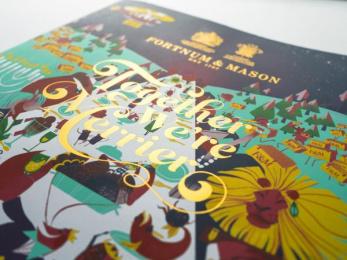 Fortnum & Mason: Brochure, 8 Design & Branding by Otherway
