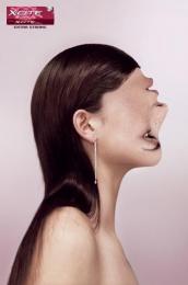 X-cite Gum: PROFILE Print Ad by CLM BBDO Paris