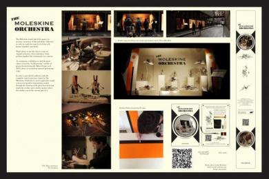 Moleskine: THE MOLESKINE ORCHESTRA Design & Branding by Xister