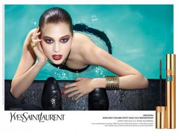 Yves Saint Laurent (YSL): Swimming Pool Print Ad by Publicis 133 Paris