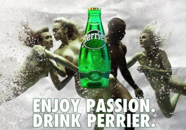 Perrier: Enjoy Passion, 1 Print Ad by Team collaboration