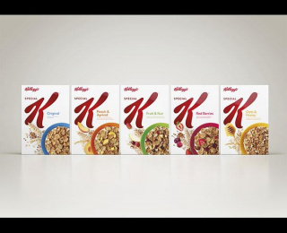 Special K: SPECIAL K VISUAL IDENTITY AND REDESIGN, 2 Design & Branding by Turner Duckworth: London & San Francisco