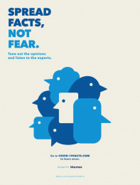 Mucinex: Spread facts, not fear, 1 Print Ad by McCann New York