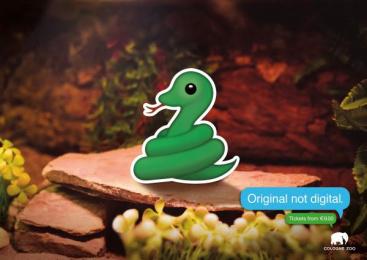 Zoo Cologne: Snake Print Ad by Preuss Und Preuss Germany