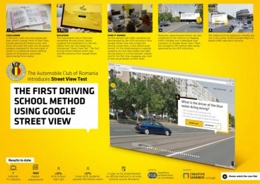 The Automobile Club Of Romania: Street View Test Outdoor Advert by Publicis Bucharest