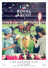 Royal Ascot: An Occasion Like Nowhere Else, 4 Print Ad by Antidote