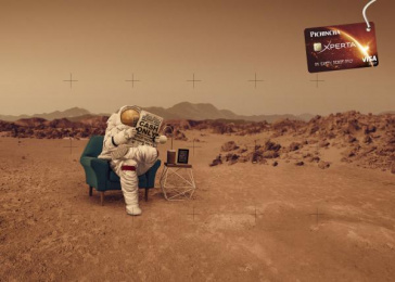 Banco Pichincha: Mars Print Ad by Lowe Delta Quito