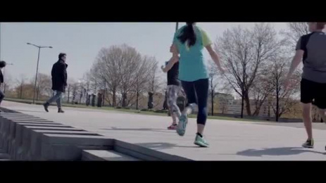 Decathlon Kalenji Shoes: Eat Your Run, 2 [video] Ambient Advert by Birth, Rosapark Paris