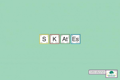 INSTITUTO AMBIENTAL RECICLAR: SKATES Print Ad by Age Comunicacoes Sao Paulo