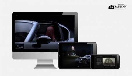 Mazda Mx 5: MX-5 RF Observatory, 1 Digital Advert by J. Walter Thompson Toronto