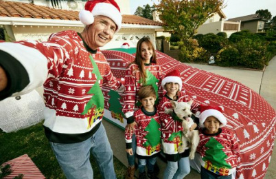 Toyota: The world's first Ugly Xmas Sweater for a car, 3 Direct marketing by Saatchi & Saatchi Los Angeles