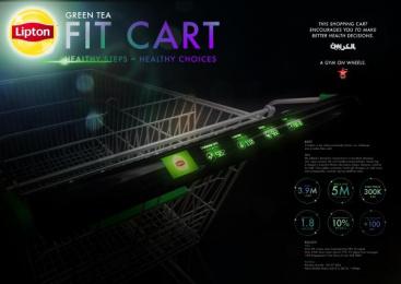 Lipton: Lipton Fit Cart [image]  Case study by Milkshake, Wunderman Dubai