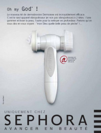 Sephora: Oh My God! Print Ad by Quelle Belle Journee