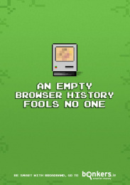 Bonkers.ie: Empty Browser Print Ad by The Public House