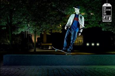 Alis Skate Gear: Slide Print Ad by DDB Copenhagen