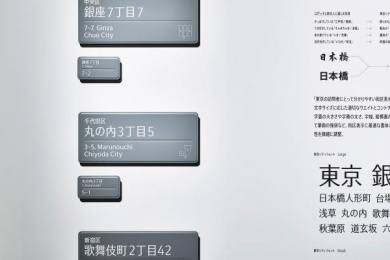 Ginza Graphic Gallery/ GGG: Wall, 7 Design & Branding by Dentsu Inc. Tokyo, Nippon Design Center