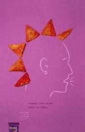 Doritos: Modern Chip, 1 Print Ad by Otis College of Art & Design Los Angeles