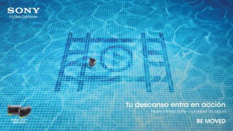 Sony: Sony underwater, 1 Print Ad by ESTILO3D, Iris Atlanta