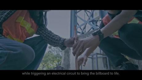 Volvo S90: Lightning-Powered Billboard #PurePower Film by GREYnJ United Thailand, Macco Group