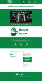 Tab (Totalisator Agency Board): Tap Initiative - Website Print Ad by M&C Saatchi Sydney
