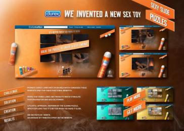 Durex: DUREX LUBES Promo / PR Ad by Buzzman Paris