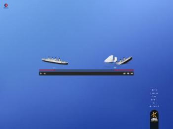 Night Power: Titanic Print Ad by G Marketing Comunicação
