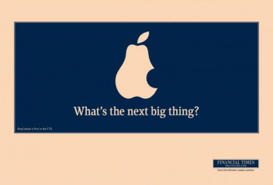 Financial Times: PEAR Print Ad by KNSK