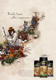 Bru: BRU EXOTICA Print Ad by Ogilvy & Mather Mumbai