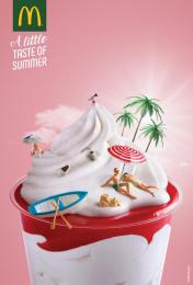 McDonald's: Island Print Ad by TBWA Lisbon