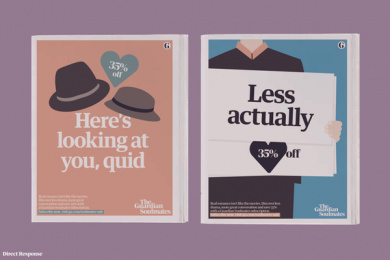 The Guardian: Playing Cupid For The Ideologically Suited, 2 Print Ad by Oliver Group UK