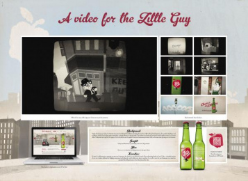 Leo Burnett: LEO'S CIDER Direct marketing by Leo Burnett Sydney