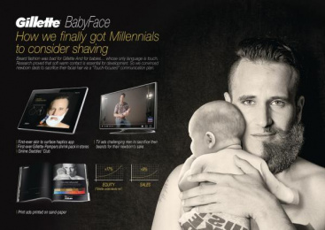 Gillette: Case study Print Ad by Acw Grey Tel-Aviv
