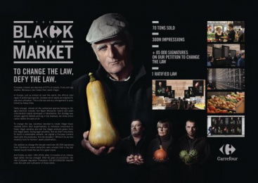 Carrefour: Case study Outdoor Advert by Marcel Paris