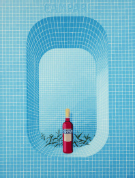 Campari: Campari-posters: New Marierosen Outdoor Advert by FamousGrey Brussels